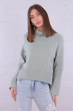 Mira Knit Roll Neck Jumper