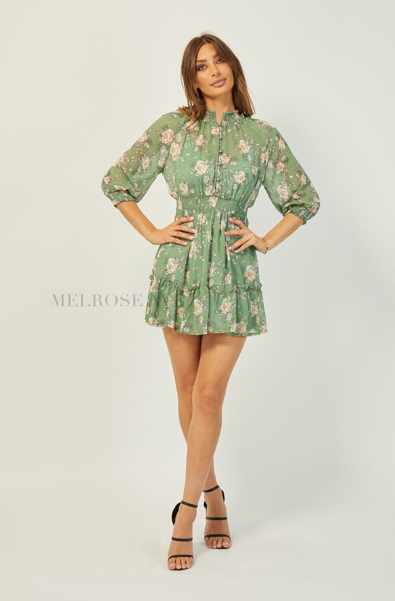 Karina Mini Dress | Green