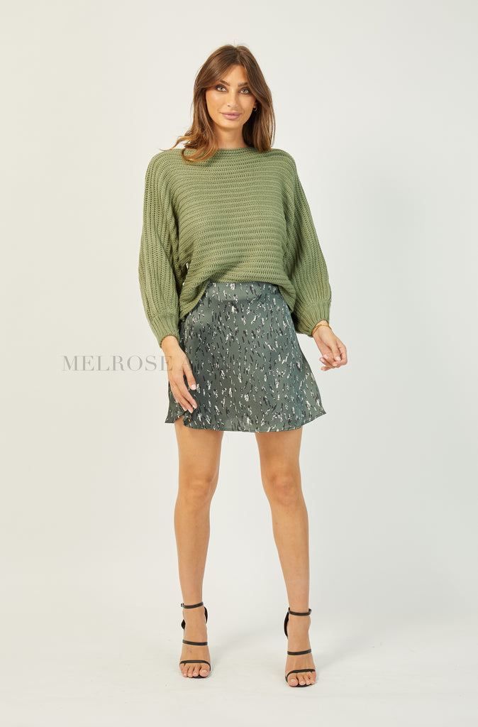 Lauren Knit Jumper | Green