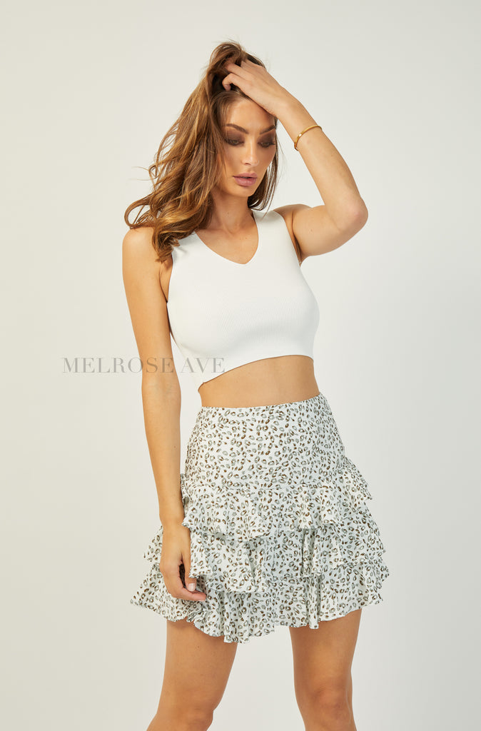Lila Mini Skirt
