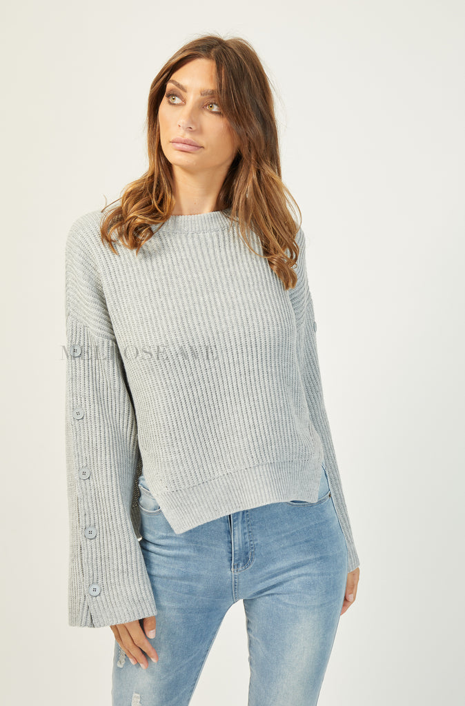 Bailey Knit Jumper | Grey