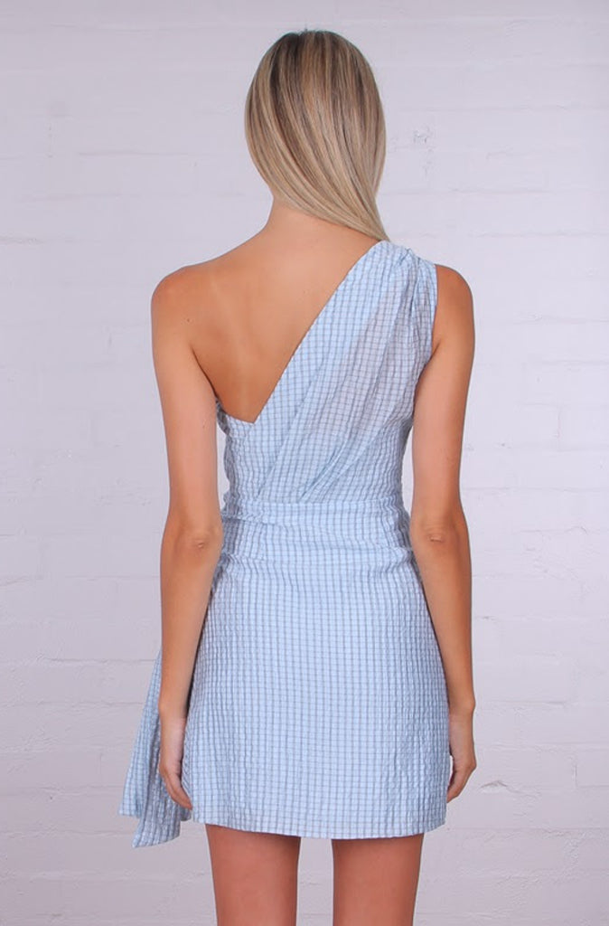 Olivia Mini Dress | Gingham