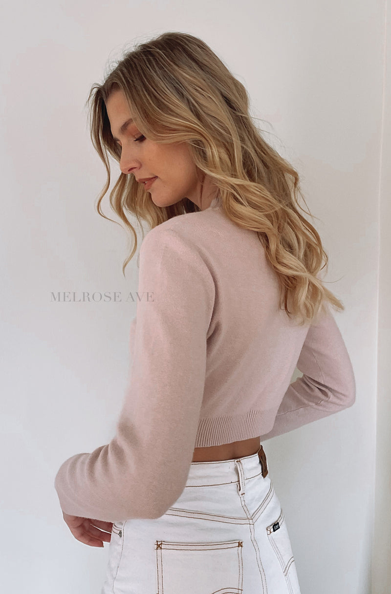 Ellen Knit Crop Top