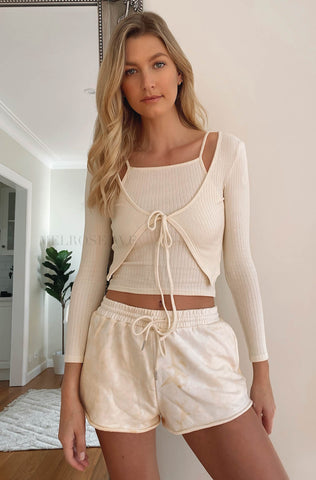 Pixie Crop Bomber Jacket