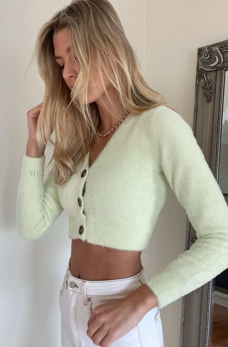 Addison Crop Cardigan