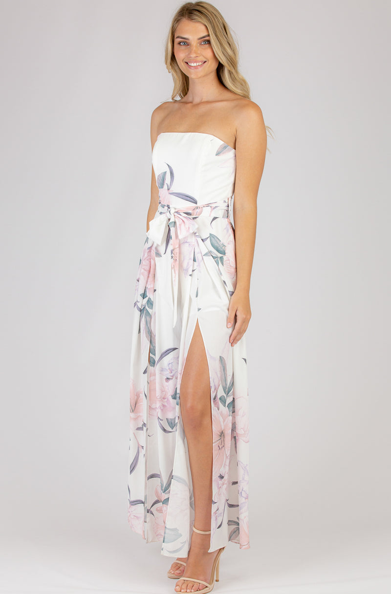 Just Right Jumpsuit | Floral