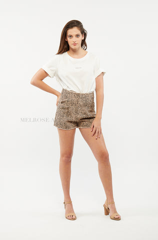 Leonie Wrap Skirt | White