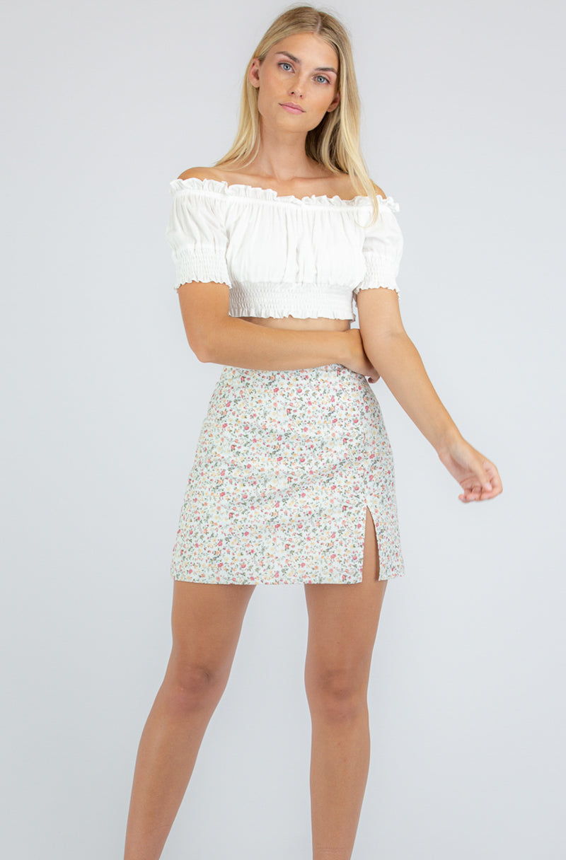 Saskia Mini Skirt