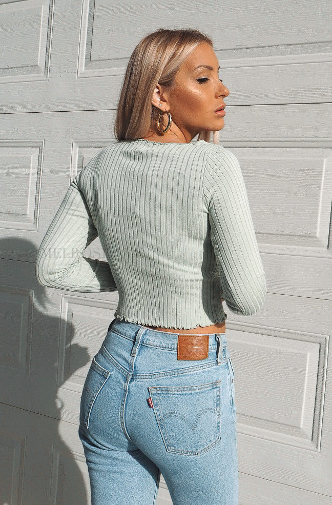 Sadie Knit Crop Top