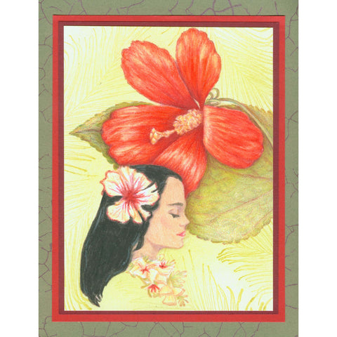 Hawaiian Girl 129I