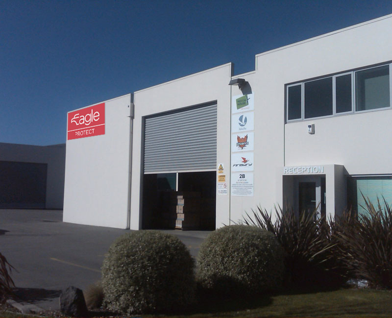 Our Distribution Centre is based just under the Port Hills in Christchurch