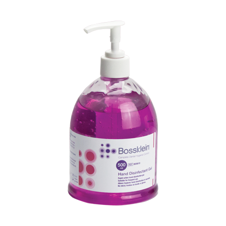 hand disinfectant gel