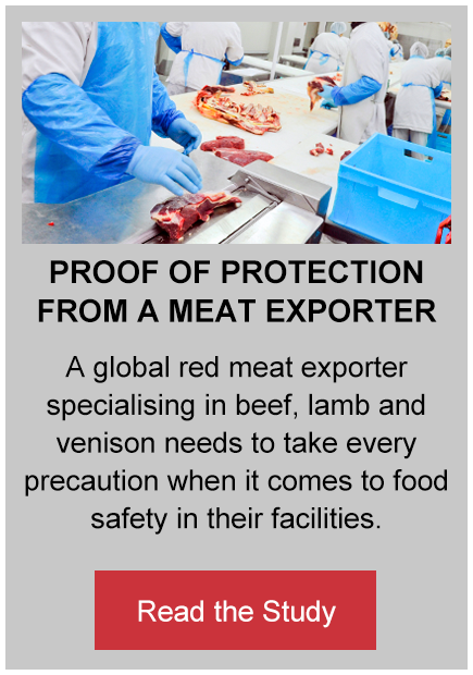 Proof of Protection from a Meat Exporter