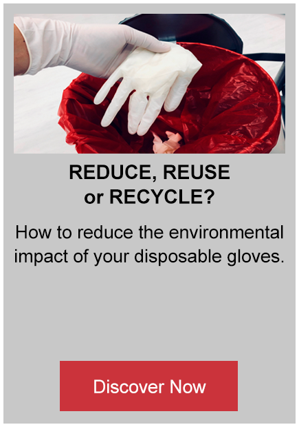 Reduce, reuse or recycle button