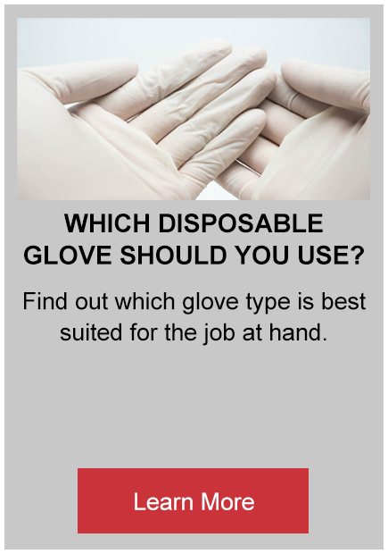 which disposable glove should you use button