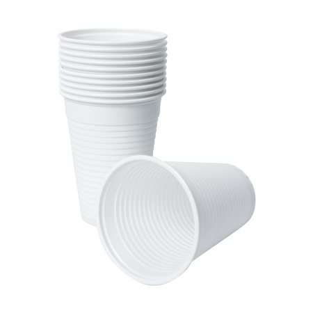 Disposable White Beakers