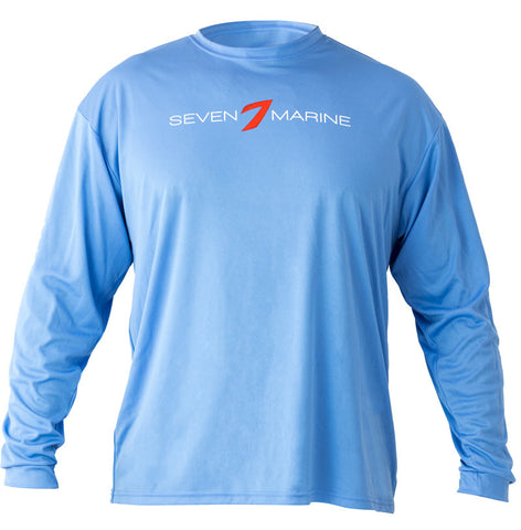 Men's Light Blue Long Sleeve Shirt