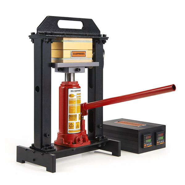 Rosin Press- Dab Press 6-Ton Driptech Bottle Jack Press - Works Great with 3.5 - 10g Flower or 14g Hash