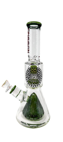 "12"" Cheech Glass Dual Perc Stemless"