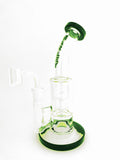 "Marley 8.5"" 4 Arm Tree Perc w/ 14mm Banger"