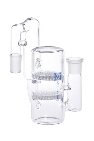 NG 14mm Double Honeycomb Recycler Ashcatcher