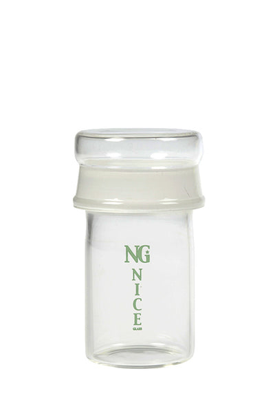 NG Small Glass Stash Jar