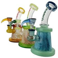 "Cheech Glass 7"" Stemless Rig with ShowerHead Perc"