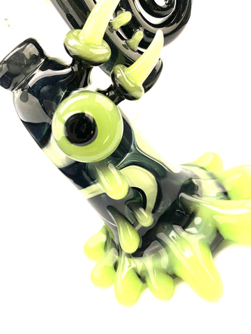 Slyme Sherlock Bubbler 10mm Female by Goolen Glass