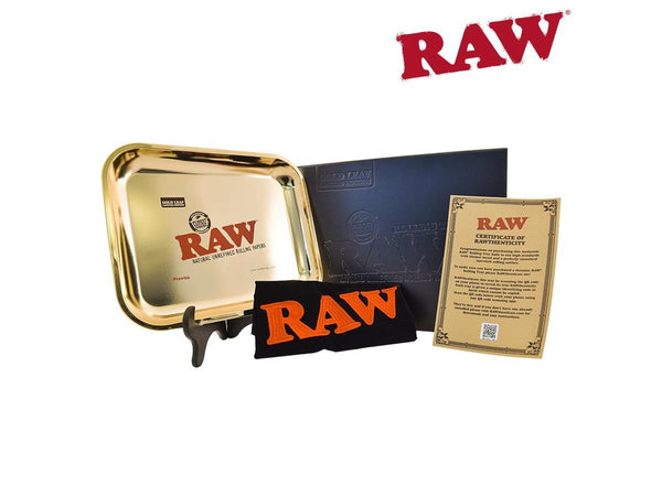 RAW Limited Edition Gold Large Rolling Tray