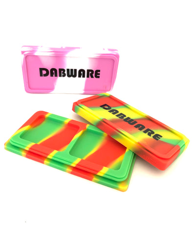 "Dabbler Large Super Slim 4.5""x2"" Stackable Silicone Container"