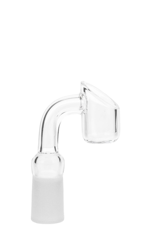 Quartz Banger 14mm female 90 degree- Slanted Top