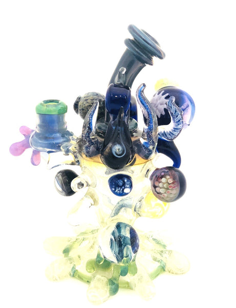 Goolen Glass - Sculpted Dab Rig