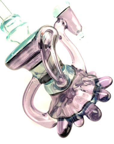 Parallax Accent Mini Recycler 10mm Female by Goolen Glass