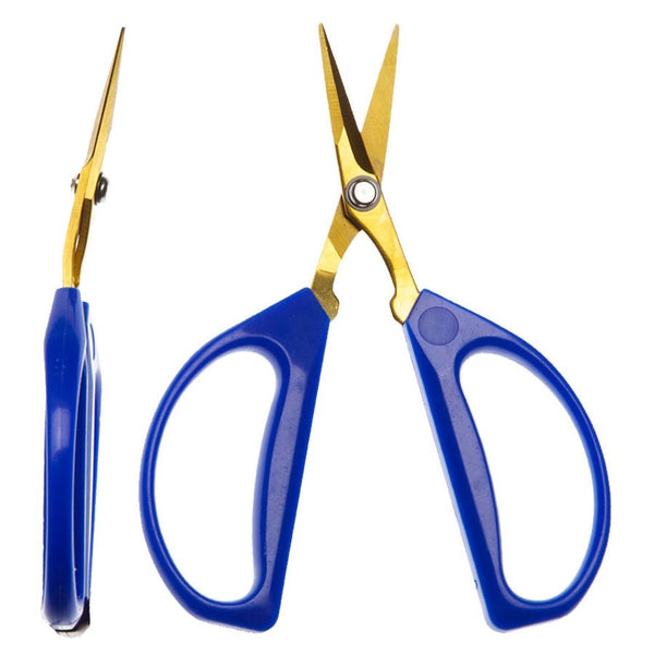 GIRO'S BLUE BONSAI SHEARS TITAN. ANGLED BLADES
