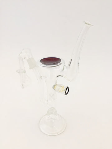 Ben Cator Glass - Fumed Martini Glass Dab Rig