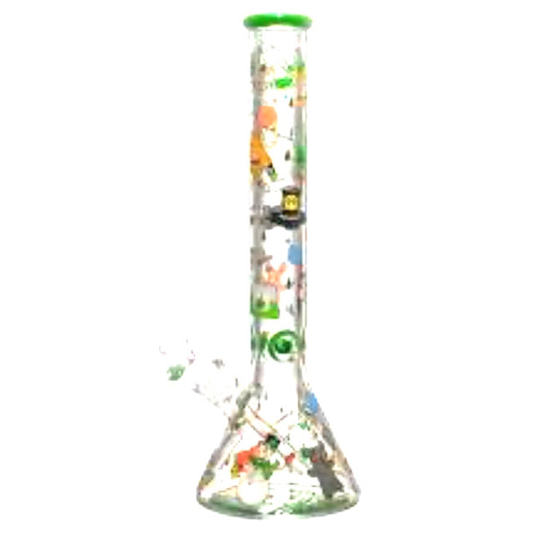"Cheech Glass 17"" 9mm Stoner Daze Beaker"