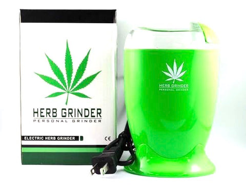 Electric Herb Grinder - plastic body