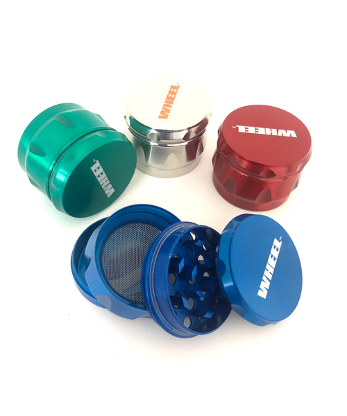 Small Wheel Brand 4 piece Grinder