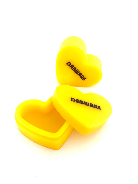 Dabware Heart Shaped Silicone container 17ml