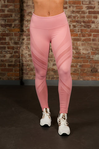 Inversion Legging - Rose