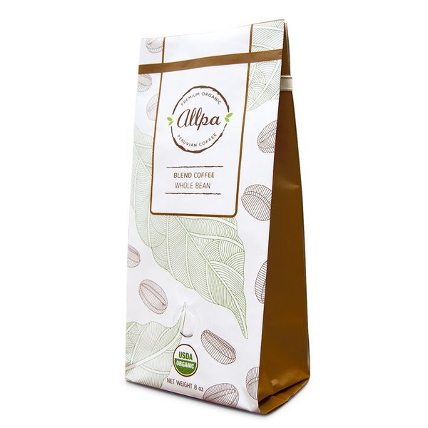 Decaf Premium Organic Blend Coffee (8oz)