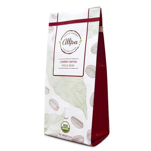 Premium Organic Cherry Coffee (8oz)