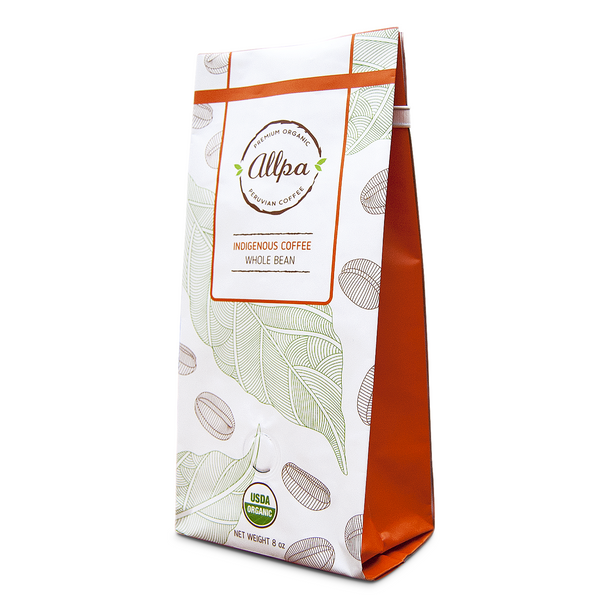 Decaf Premium Organic Indigenous Coffee (8oz)