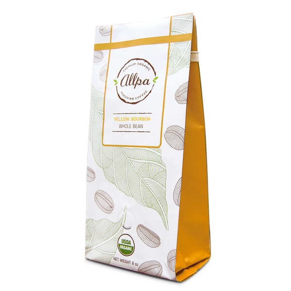 Premium Organic Yellow Coffee (8oz)