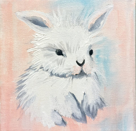 bunny baby painting