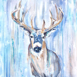 buck deer painting