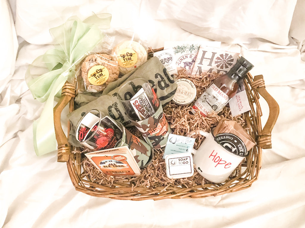 Clay County Local Artisan Gift Basket