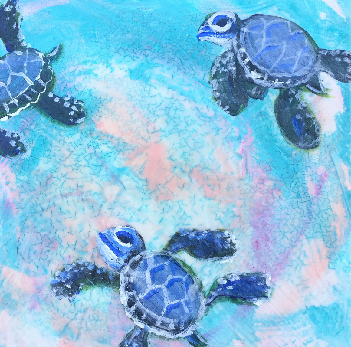 Sea Turtle Baby Journey 3
