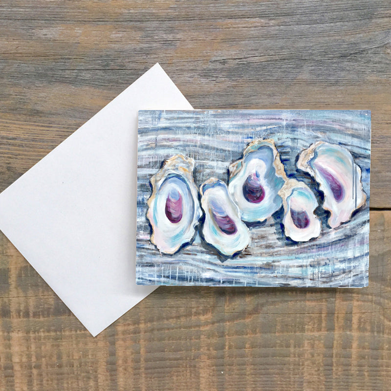 Oyster Party Greeting Cards Pack of 6
