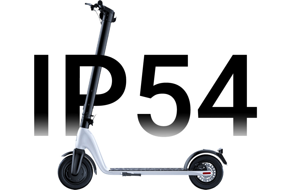 JIVR Scooter IP54 Rating Weather Proof